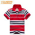 Brand Boys Girls Cotton Shirts Polo New 2017 Children Clothing 2-7yrs Polo Shirts For Boys High quality Stripe Boys Clothes