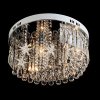 Поверхность Новинка звезда кристалл освещение светодиодный потолочный светильник для Детская комната Детский светильники современные кр