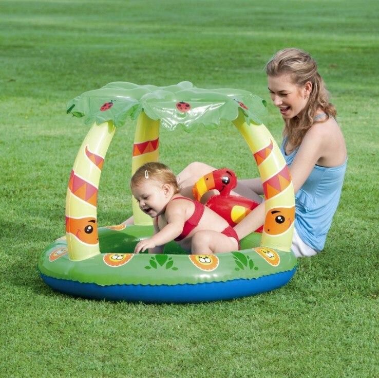 Bestway genuine 52179 canopy inflatable pool baby bath pool pool b32
