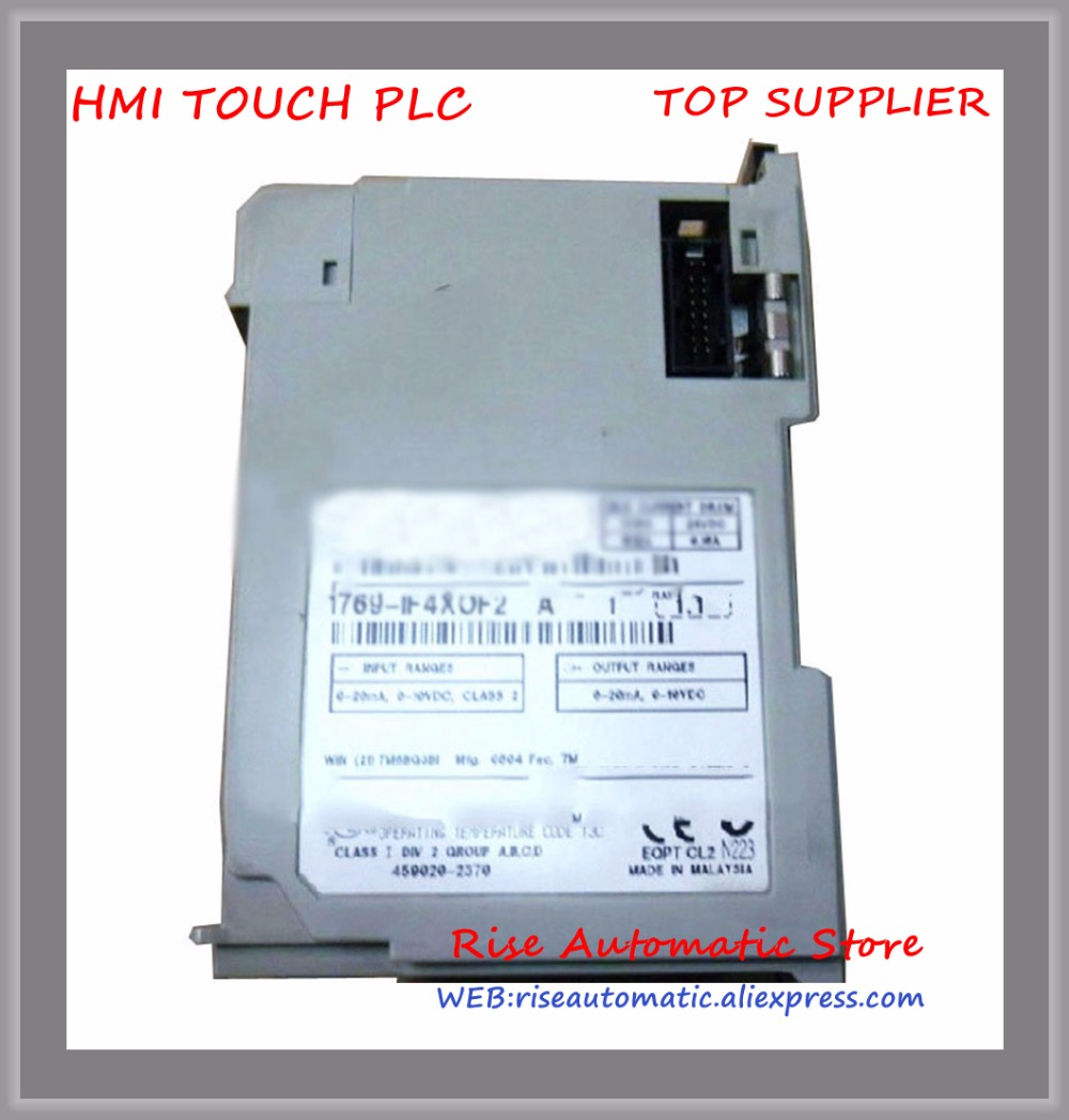 1769-IF4 PLC 4 inputs differential or single-ended Compact Analog I/O Module New Original new original 1769 of8v plc 8 outputs single ended compact analog i o module