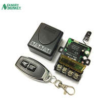 433Mhz Universal Wireless RF Remote Control Switch AC 220V 1CH 30A Relay Receiver and 2 channel 433 Mhz For Water pump