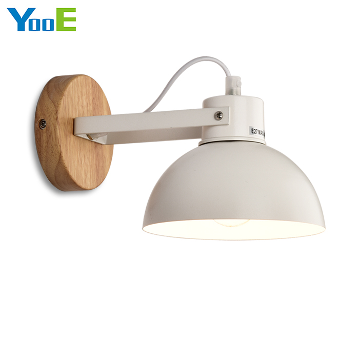YooE Hot Sale Indoor Wall Lamp  Modern Simple Wall Sconce Lighting bedroom Decorate Fshion iron Rotation Angle Wall Lights