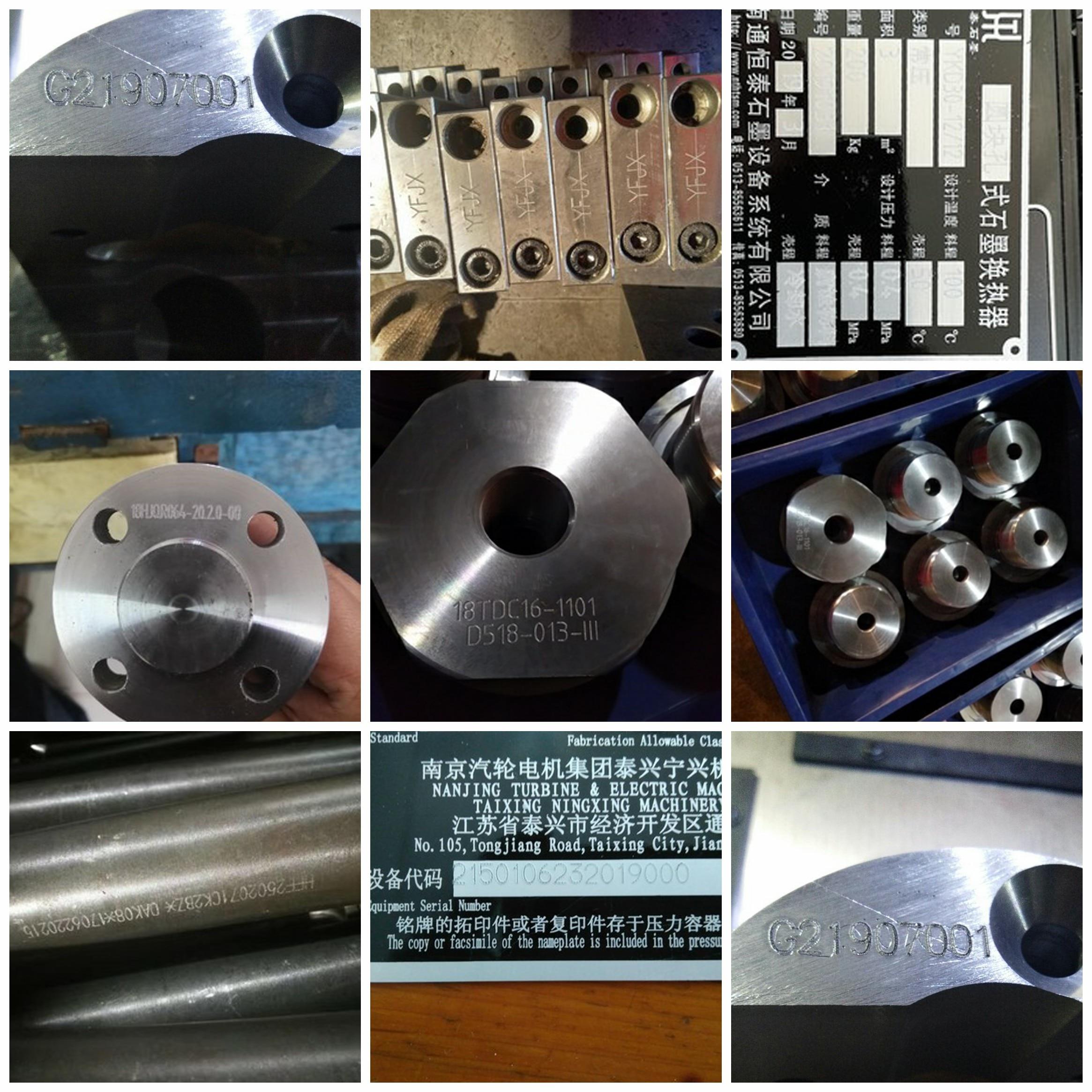 Nissan VIN font Cnc Engraving Machine Pneumatic Marking Machine Portable Marking Machine Vin Number Marking Machine