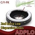 Adaptador óptico Suit para Contax Yashica C / Y CY lente para Pentax K PK K-5 ii, K-30, K-01, K - r, K - x, K-7, K - m, Câmera K20D