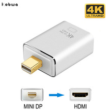 4K Mini Displayport To Hdmi Adapter Cable Male To Female 1080P Mini DP Thunderbolt Converter For Macbook Pro For Imac Projector