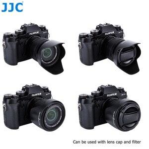 Image 2 - JJC Bayonet Lens Hood Shade for Fujinon XC 16 50mm F3.5 5.6 OIS II Lens on Fujifilm X T200 X T100 X A7 X T30 X T20 X T10 Camera