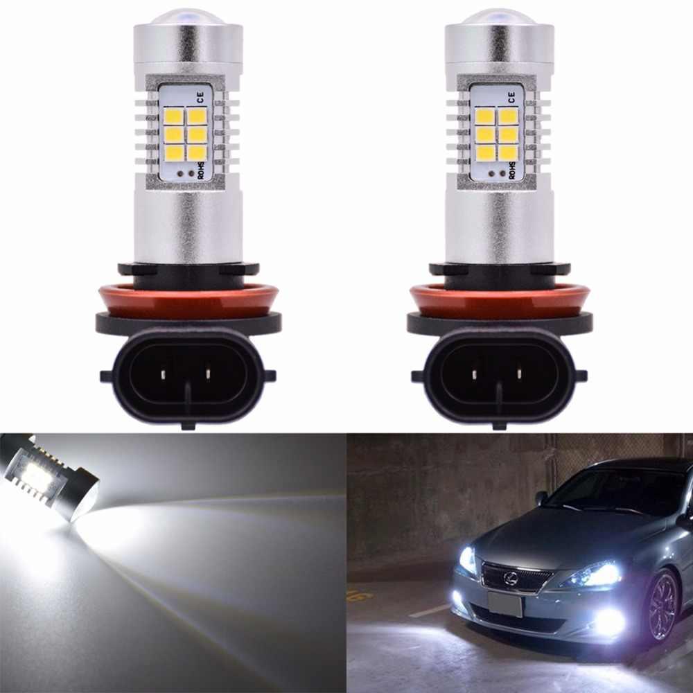 Katur 2pcs H15 H16 H11 Led Bulb For Fog Lights 9006/HB4 9005/HB3 H4 H7 H8 P13W Led Car Light Source Driving Driving Lamp 6000K