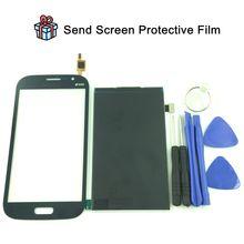 Für samsung galaxy grand duos i9080 i9082 weiß schwarz gold touch Screen Panel Sensor Objektiv Glas + LCD Display Monitor 100% Test