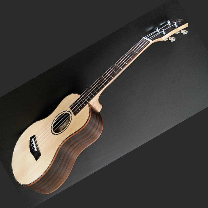 High Quality Veneer Ukulele 4 String Hawaiian Guitar 23/26 inch Spruce Ukulele Chibson Acoustic guitar Rosewood Fingerboard acoustic guitar neck fingerboard fretboard for guitar parts replacement rosewood zebrawood veneer