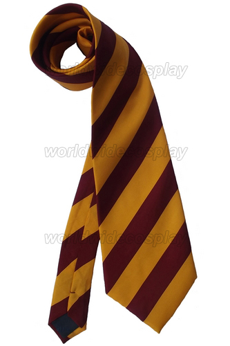 Harry Gryffindor Delux Wide Cosplay Necktie Free Shipping for Halloween and Christmas