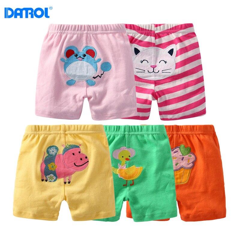 DANROL Baby Boys 5-Pack Cartoon Pants Set 100/% Cotton