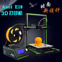 Newest Anet E10 3D Printer DIY 3D Printer Kits Multi Language Software Aluminum Alloy Frame Super