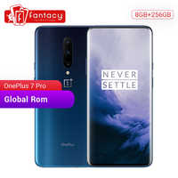Globale ROM Oneplus 7 Pro 8GB di RAM 256GB di ROM Per Smartphone Snapdragon 855 6.67 Pollici 90Hz Display AMOLED di impronte digitali 48MP Telecamere NFC