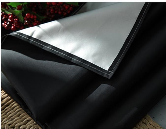 Δωρεάν στέλνοντας ασήμι μαύρη σκίαση - Αρχική υφάσματα - Φωτογραφία 3