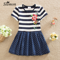 2017 Summer For Girls Dress Baby Kids Entity Decals 100 Cotton Nova Girl Bead Embroidery Lace