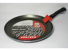 Сковорода блинная FLONAL, Black&Silver, 22 см