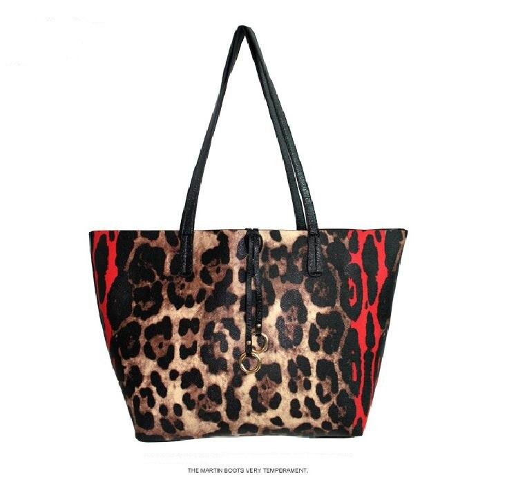 ffe167cfe2 YESIKIMI Women Casual Tote Leopard Large Purse Lady Handbag PU Leather  Single Shoulder Bag Famouse Designer