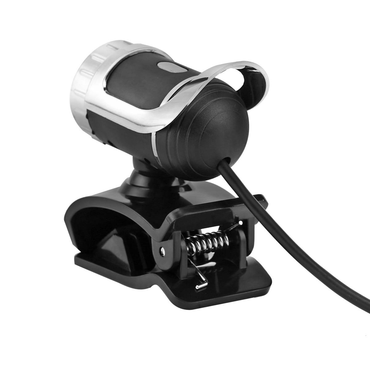360 Degrees Rotatable Clip-on USB Webcam with Adjustable Focal Length Lens for Laptop/Desktop 3