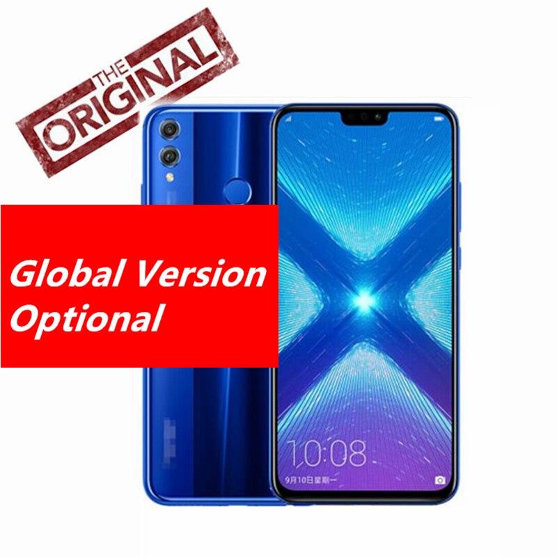 Global Firmware Huawei Honor 8X Mobile Phone 6 5 inch Screen 3750mAh Battery Android 8 1