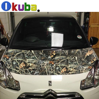 New Car Styling Truck Body Rearview Mirror Decal Realtree Camo Vinyl Film Wrap Air Bubble PVC Stickers Bomb Camouflage Vinyl
