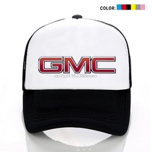 ea09d296b7f American GMC Auto Trucks Print Mesh Cap Unisex Hats Caps Youth Hat  Adjustable Cap Sports Hat