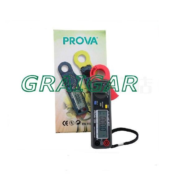 Дешевая доставка распродажа ~ PROVA 1200 Высокое разрешение цифровой клещи, DC клещи, Мини измеритель тока - 4
