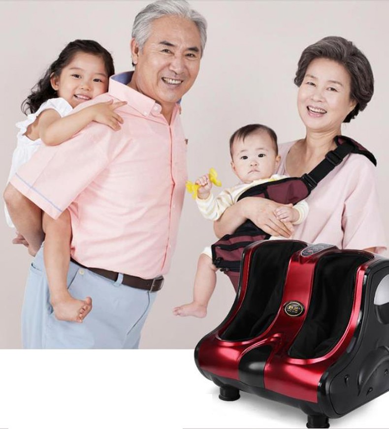 Household multi-function Health and safety Heat the leg machine/Full air bag wrapped/Foot heating a massager/130905/02 the health gap