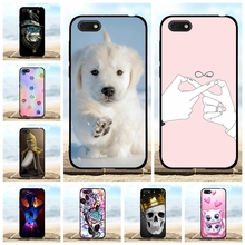 For Huawei Y5 2018 Y5 Prime 2018 Cover Soft TPU Silicone For Huawei Honor Play 7 Case Lion Pattern For Huawei Honor 7S Coque Bag youvei case for coque huawei honor 7a 7s case 5 45 soft tpu back cover for huawei y5 2018 y5 lite 2018 prime cover phone case
