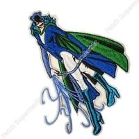 4.75 Batman Catwoman Michelle Pfeiffer Embroider dc comics TV Movie Series Uniform applique sew on iron on patch