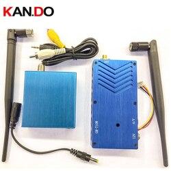 10W 1.3G Wireless cctv transceiver 1.3G Video Audio Transmitter image transmission  AV sender video drone transmitter FPV