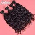 """Coleen produto de cabelo 8 """"-30"""" Cabelo Virgem Onda Natural brasileiro 3 pacotes Brasileira Encaracolado Cabelo Virgem 7A Cabelo Humano Encaracolado Naturais"""