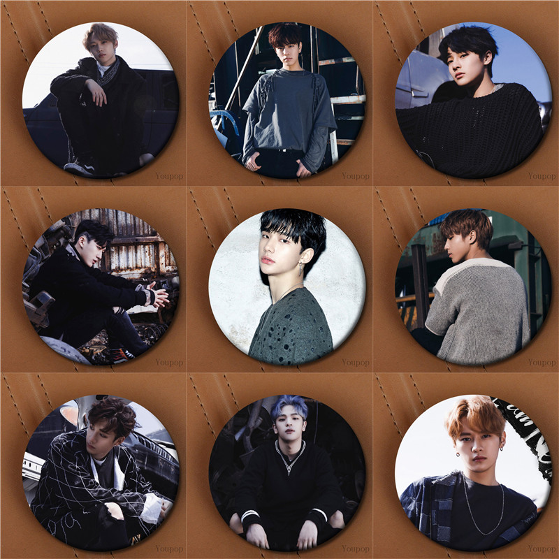 US $0 79 |Youpop KPOP Stray Kids Album I AM NOT StrayKids FELIX BangChan  HAN I N WOOJIN Photo Badge Pins Brooches for Clothes Hat Backpack-in  Brooches