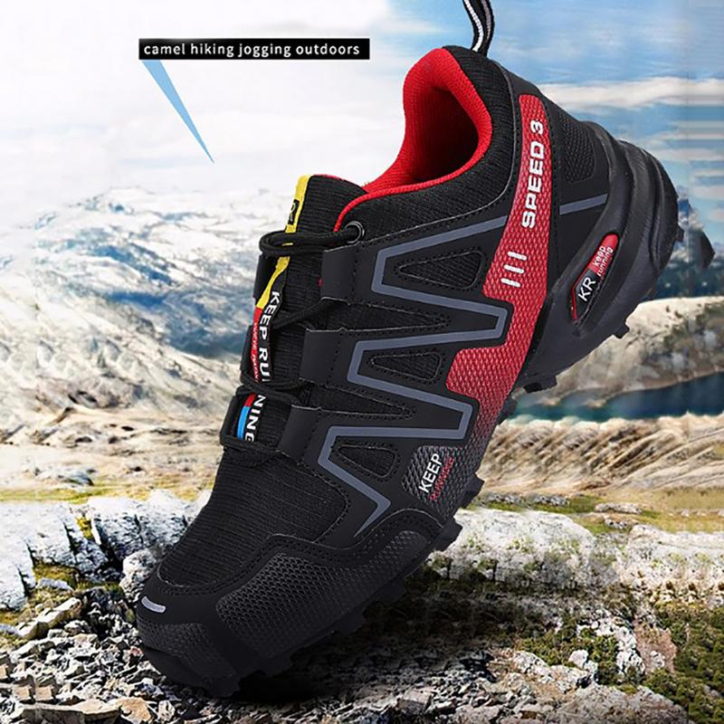 New Sports Shoes Men Mountain Hiking Boots Non-slip Wear-resisting and Shock Absorption Cross Country Walking Outdoor ShoesNew Sports Shoes Men Mountain Hiking Boots Non-slip Wear-resisting and Shock Absorption Cross Country Walking Outdoor Shoes