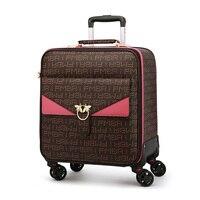 Neue 24 zoll große kapazität Roll Gepäck marke Studenten Passwort Koffer 16 20 hohe qualität Tragen auf Trolley Reisetasche