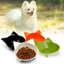 Pet Bowl Feeder Non Slip Dog Cat Puppy Kitten Dishes Utensils Drink Feeding Water Shaped Cute Kitty Supplies