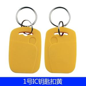 Image 2 - 100 Pçs/lote 13.56 MHZ RFID IC Card Token para Tag Chaves Keyfobs para Controle de Acesso de Entrada Mechine