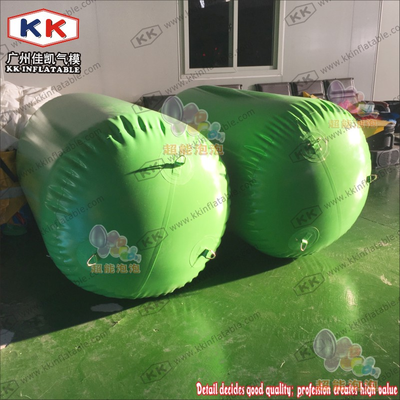 Summer Toys For Inflatable Green Floating Tube, Inflatable Buoys Water Safety Barriers For Sea summer hot selling inflatable water sport flying inflatable crazy ufo for sale water ski tube