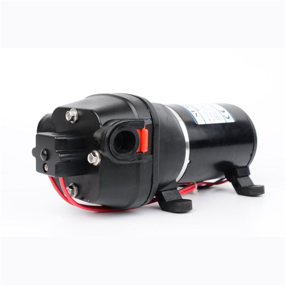 купить DC 12V/24V 100PSI(7.0Bar) Lift 60m High Pressure Electric Diaphragm Cleaning Car Washing Pump bilge pump FL-100
