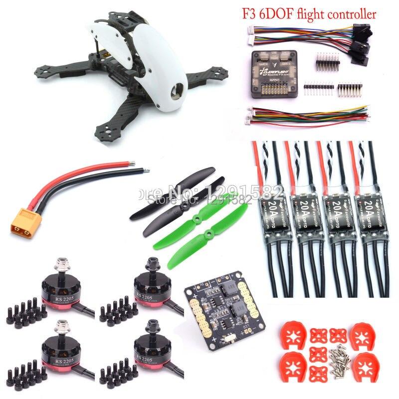 Robocat 270 270mm Quadcopter F3 Acro controller board RS2205 2300kv 2 4S motor Littlebee 20A Pro