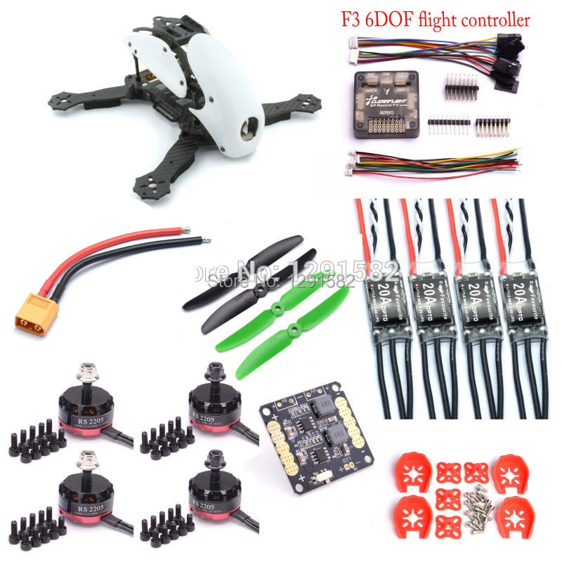 Robocat 270 270mm Quadcopter F3 Acro carte contrôleur RS2205 2300kv 2-4 s moteur Littlebee 20A Pro ESC pour FPV RC Drone