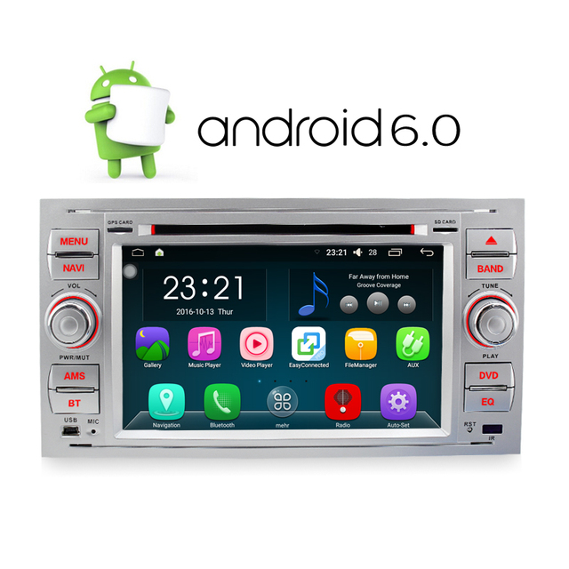 A Sure Android 6.0 DAB+Car DVD Player In Dash For Ford Transit Focus ...