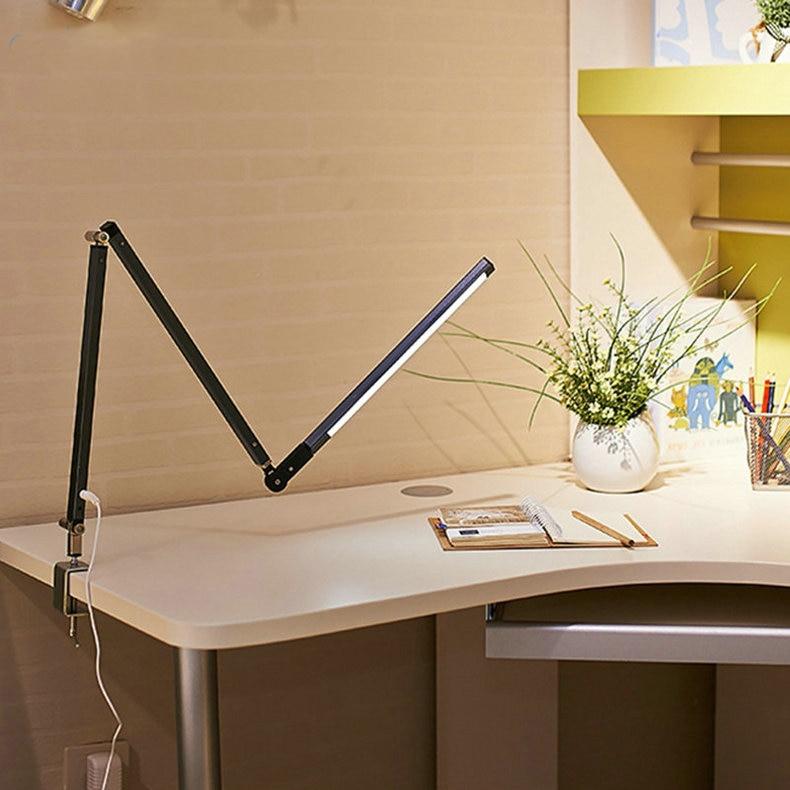 longo braço escritório negócios estudo luz mesa para luminária