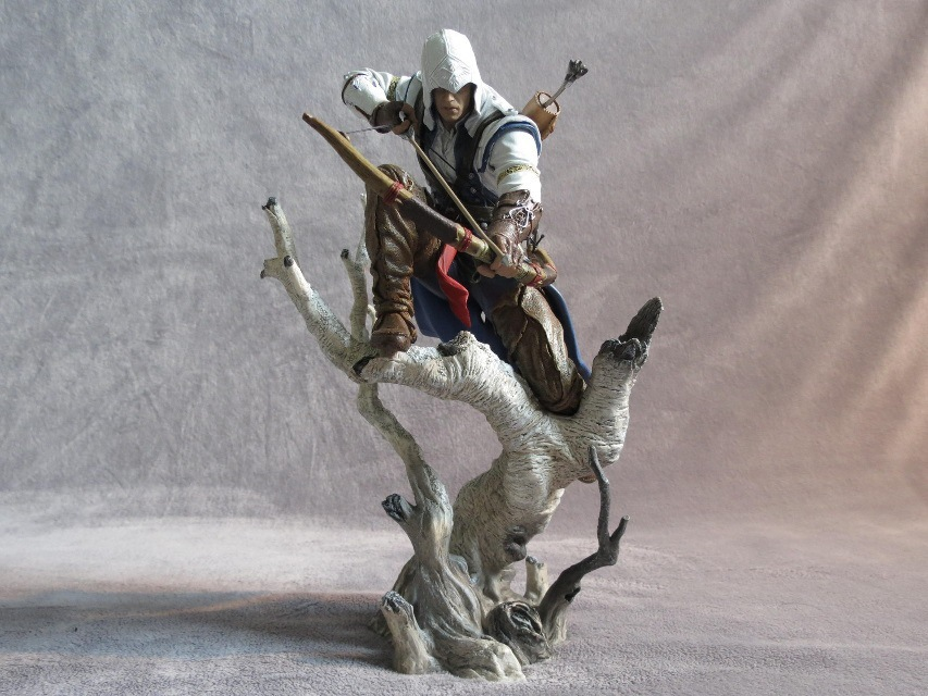 SANITGI Assassin's Creed Connor : The Hunter PVC 25CM Action Figure Collection Game Model Dolls Kids Toys T498