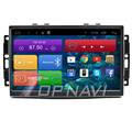 9 ''Quad Core Android 4.4 Navegación Del Coche para Chrysler 300C Antiguo con Radio Estéreo de Audio Mapa 16 GB Flash Wifi Bluetooth Sin DVD