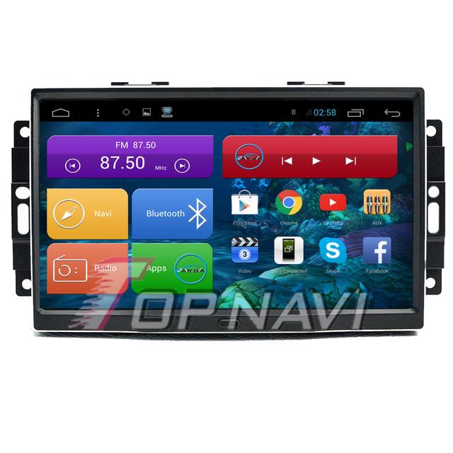 9 ''Quad Core Android 4.4 Navegación Del Coche para Chrysler 300C Antiguo con Radio Estéreo de Audio Mapa 16 GB Flash Wifi Bluetooth Sin DVD