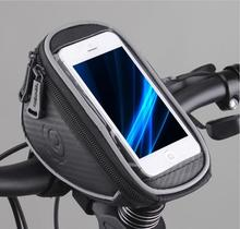 Hot Sale! Free Shipping Waterproof Cycling Bike Front Top Frame Bicycle Accessories Handlebar Bag Pouch for 5″ Cellphone11810