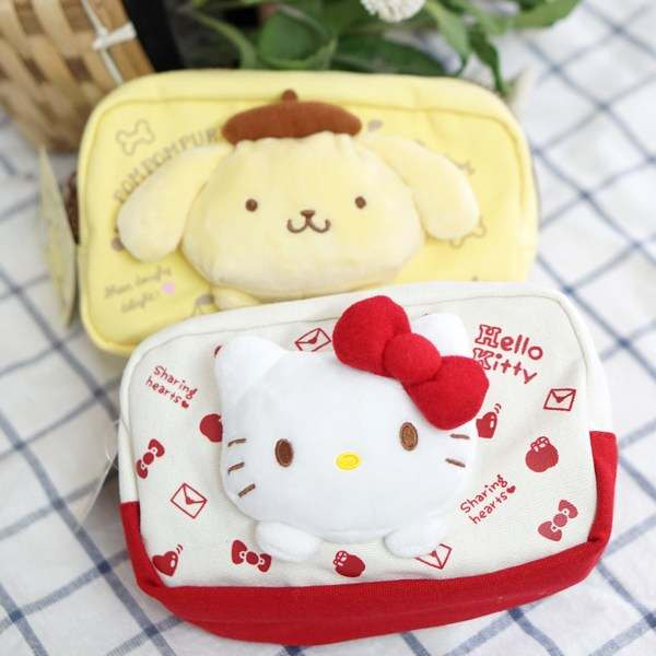 915e9d5394 Online Shop Cartoon Japan Hello Kitty My Melody Cinnamoroll Dog Pudding Dog  Cosmetic Bags Storage Travel Pouch Girl makeup bags Pencil case