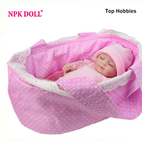 HP21 NPKDOLL COLLECTION 28CM Mini Doll Reborn 11 Handmade Full Silicone BeBe Reborn Baby Doll Girls Toys Lifelike Minifee Doll