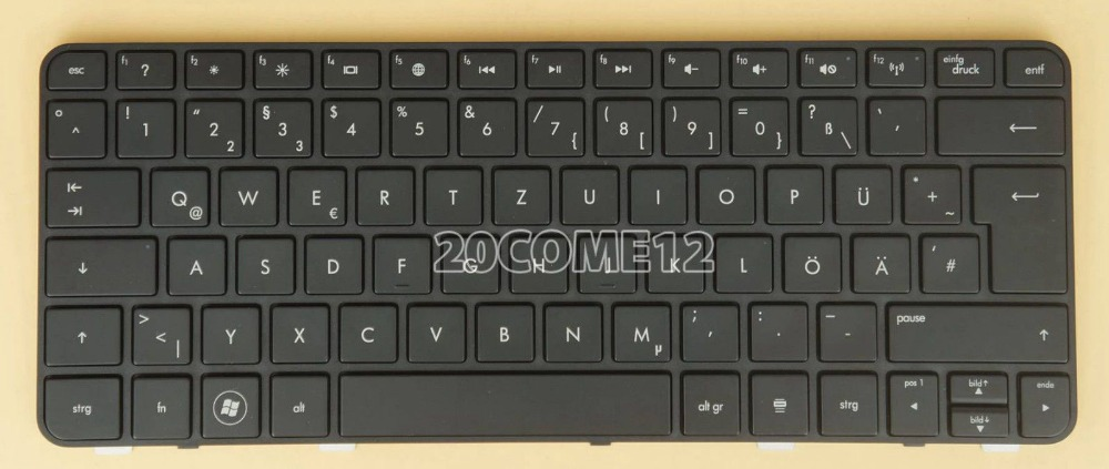 New notebook Laptop keyboard for HP Probook 3115m 3125 3125M Keyboard German Deutsch DE GR QWERTZ Frame 2017 hot bluetooth multi function audio intelligent family host background music system lcd screen touch light dimmer 2 speakers