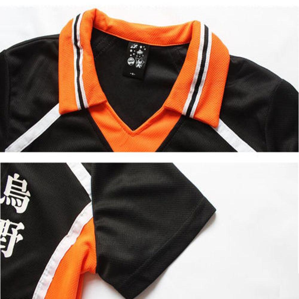 Karasuno High School Volleyboll Klub Hinata Shyouyou Anime Haikyuu - Maskeradkläder och utklädnad - Foto 5